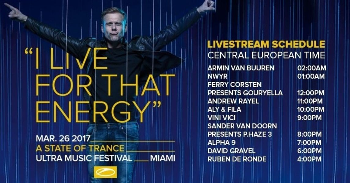 Enjoy the Trance of Ultra Music Festival 2017