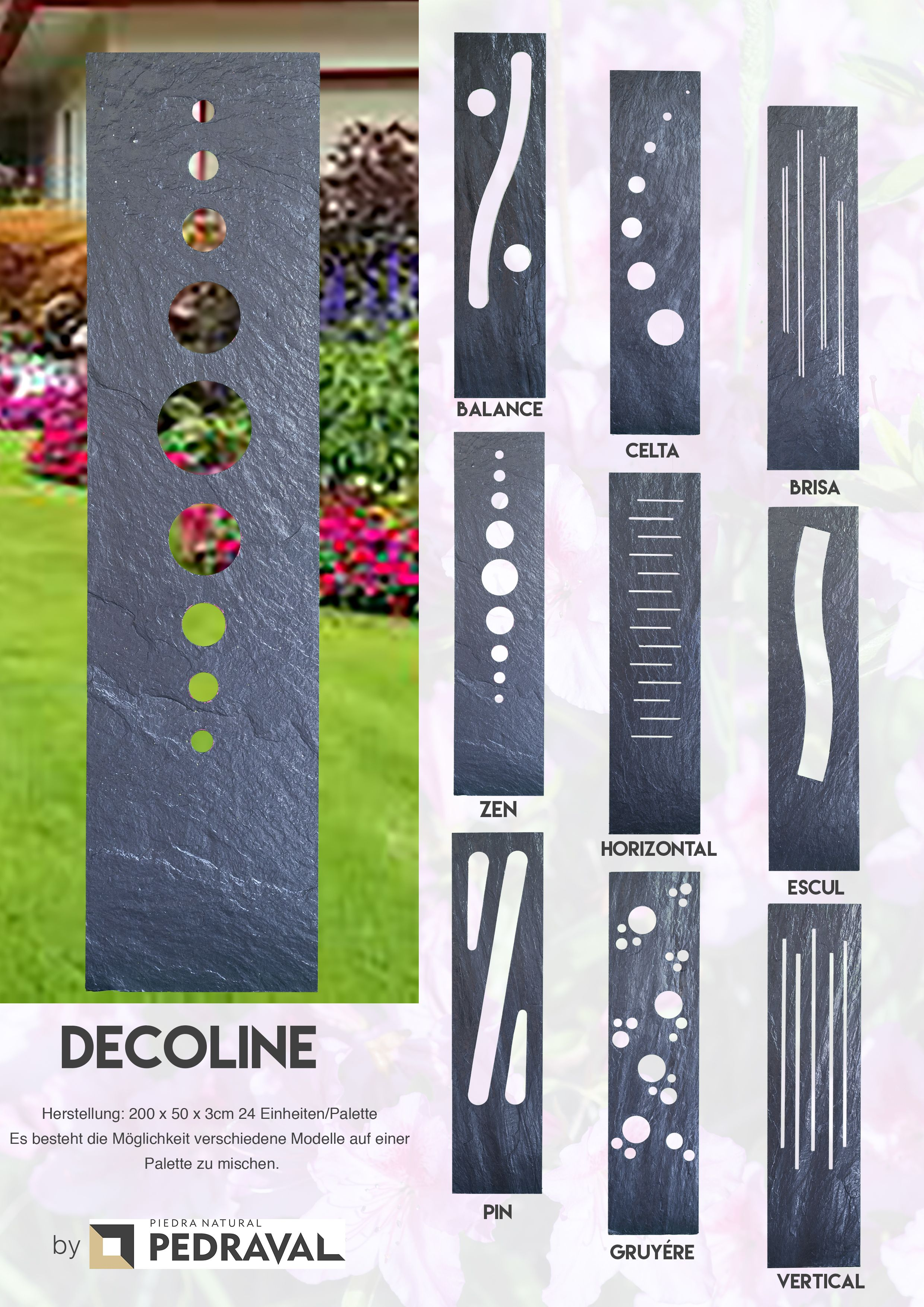 schieferplatten deko garten wohn design. Black Bedroom Furniture Sets. Home Design Ideas