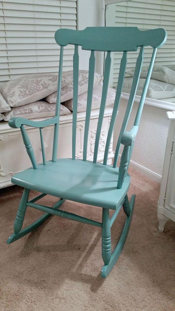 Rocking Chair In Secluded Garden By Valspar