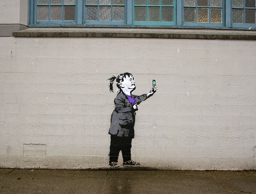 IHeart Street Art Meets Contemporary Social Media Culture Street - Artist creates clever street art installations that interact with their surroundings