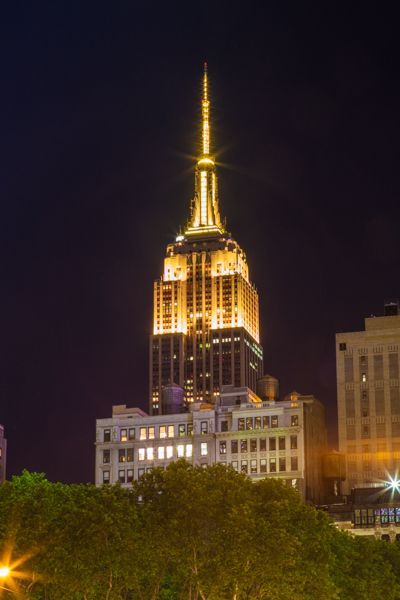 February 15, 2016: The Empire State Building celebrates the 58th year of @thegrammys by sparkling in gold from 8:00-11:00 p.m. ET.