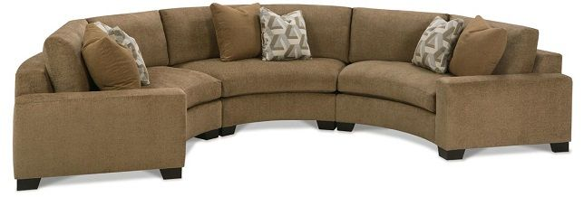 Circular Sectional Sofa Retreat Sectionals Ellen Curved