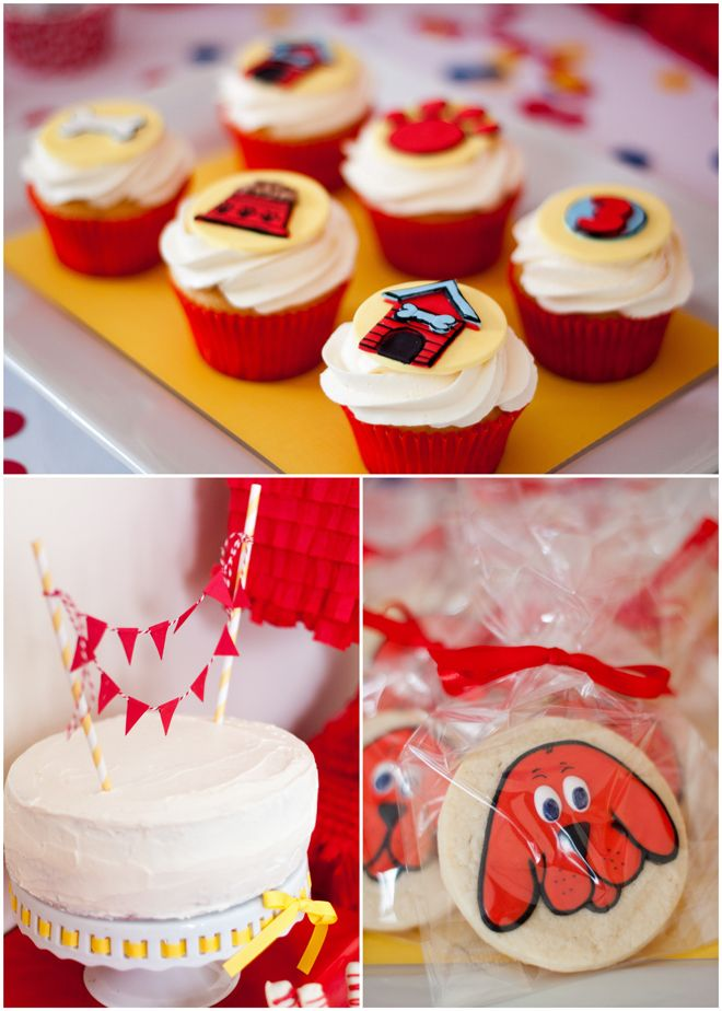 Clifford The Big Red Dog Party Food Ideas