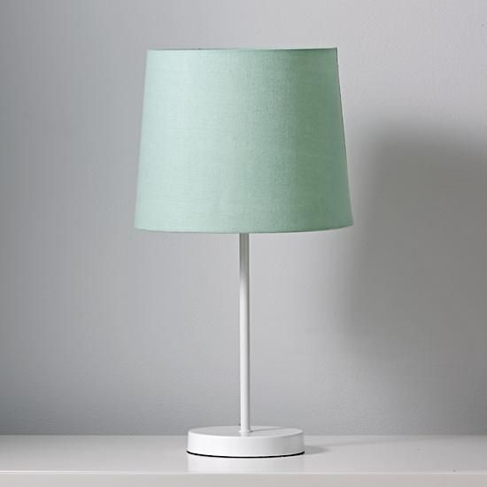 fun lighting for kids rooms. mix and match mint table lamp shade fun lighting for kids rooms