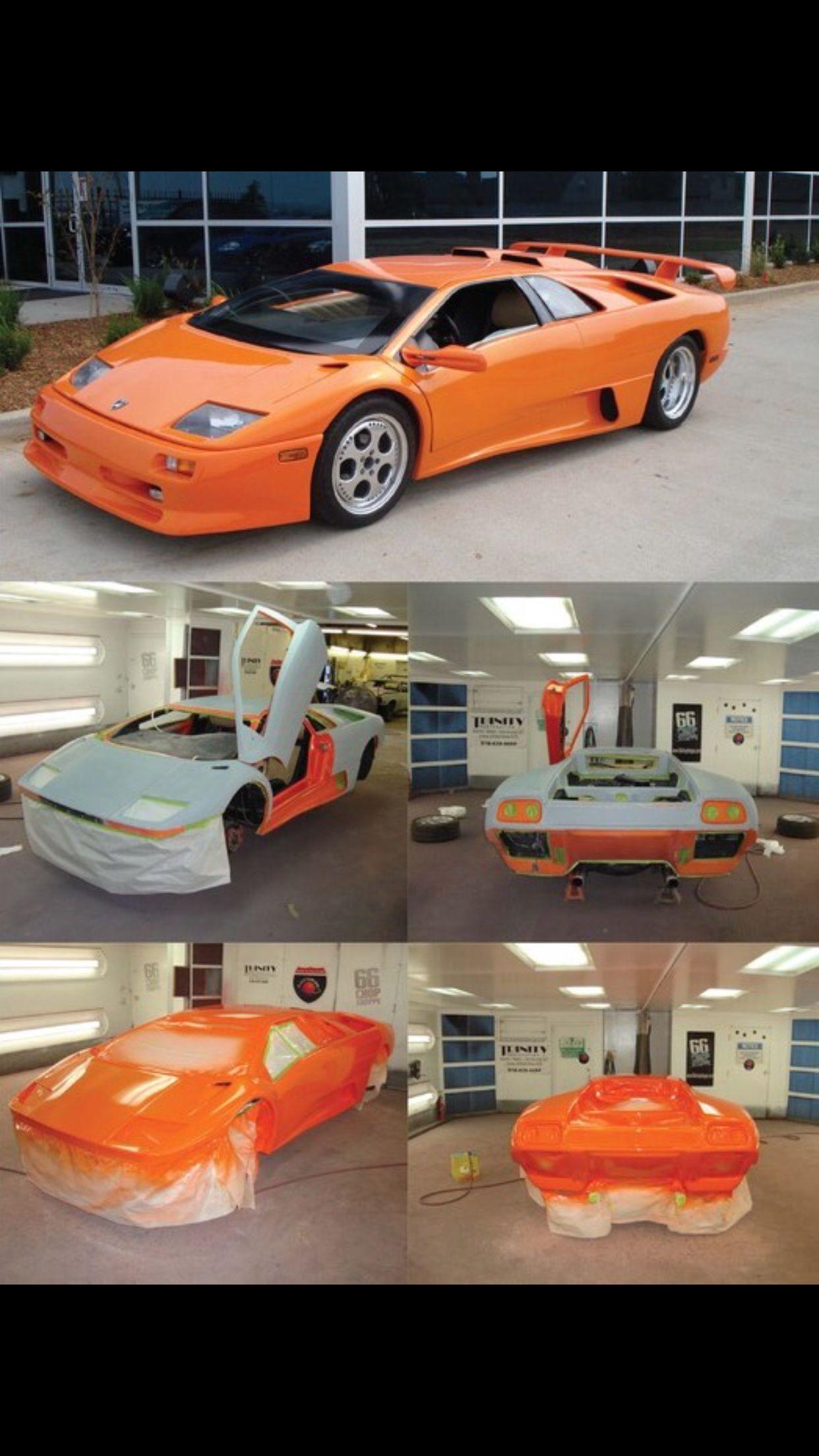 Factory Lamborghini Orange Paint Baby Gotta Love That Color It Had