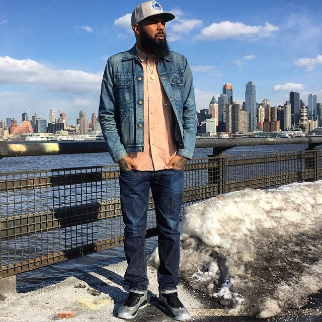 new arrival 500a5 ed54b stalley wearing air jordan x 10 lady liberty