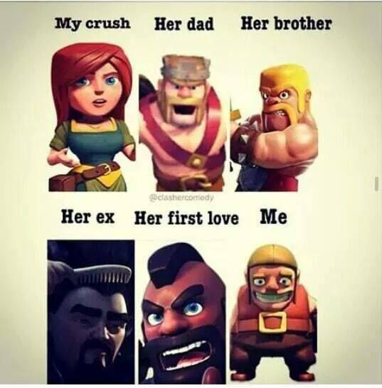 Funny Clash Of Clans Jokes 2016 Latest Let S Coc Clash Of Clans Clash Of Clans Hack Coc Memes