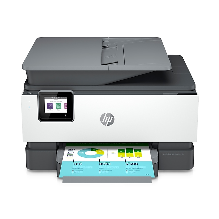 Hp Officejet Pro 9015e Wireless Color All In One Printer W 6 Months Free Ink Through Hp Plus 1g5l3a Staples Hp Officejet Pro Hp Officejet Wireless Printer