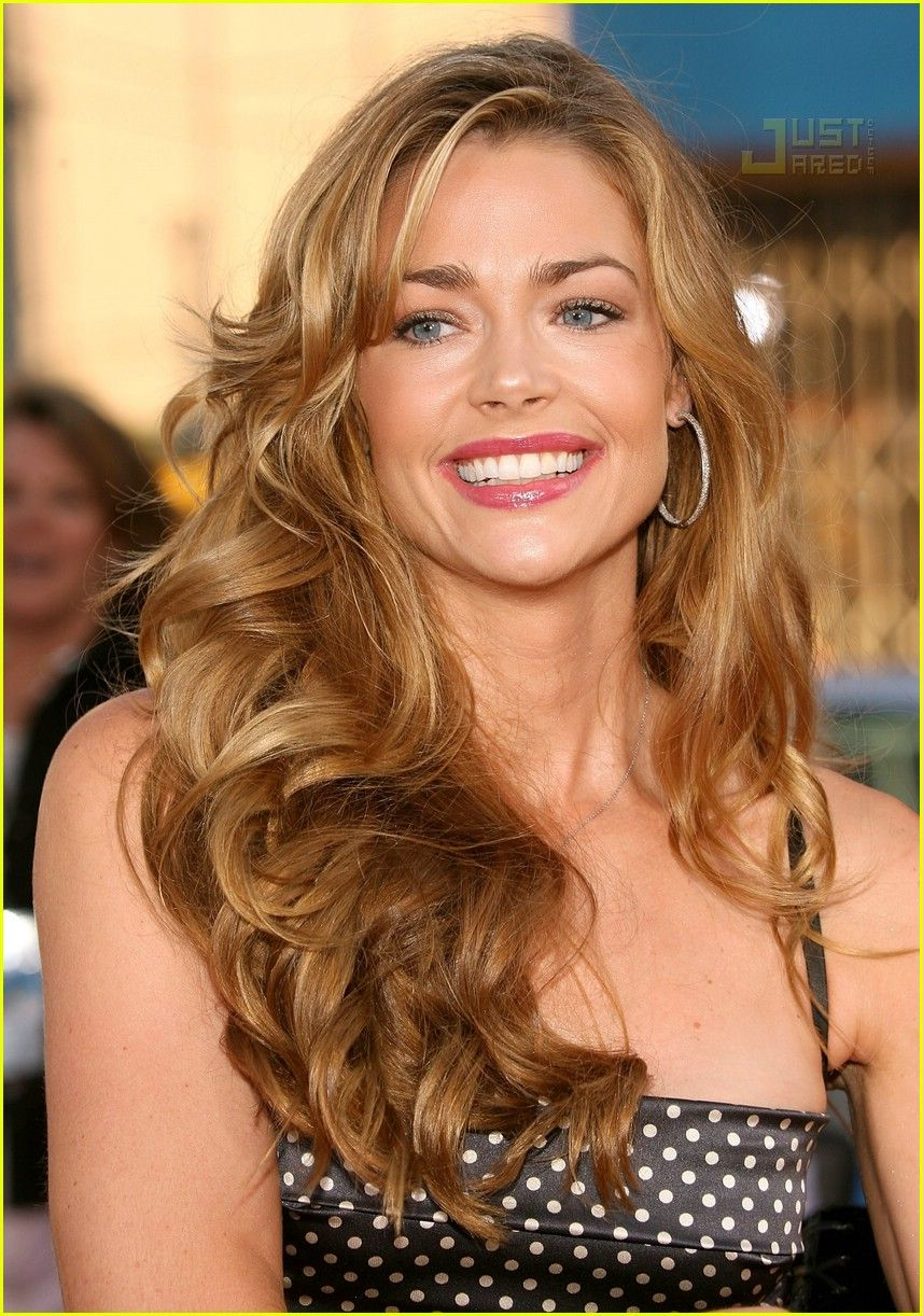 Denise Richards Chignon Hairstyles for Long Hair recommend