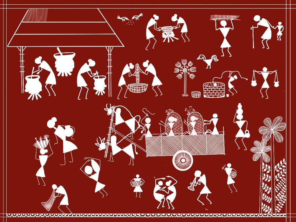 Image result for warli pots online usa | Different Indian ...