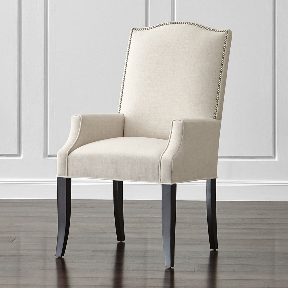 Surprising Colette Ii Upholstered Dining Arm Chair Crate And Barrel Ocoug Best Dining Table And Chair Ideas Images Ocougorg