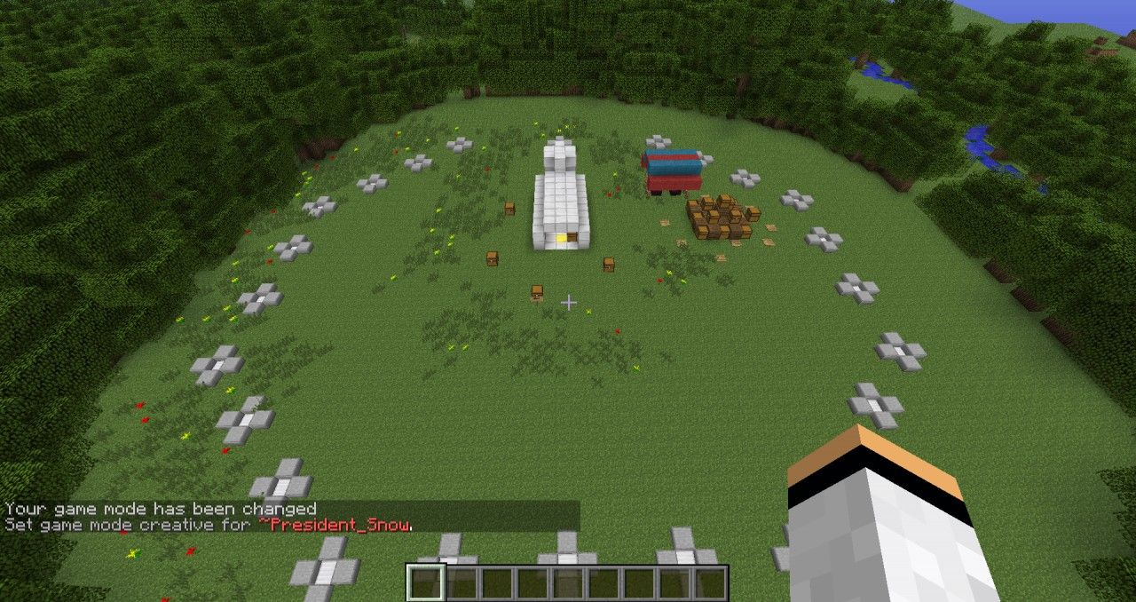 minecraft hunger games pictures | hunger games arena | minecraft