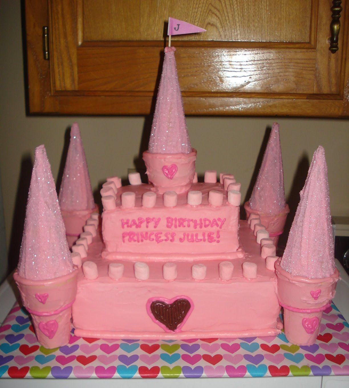 Easy Princess Cakes