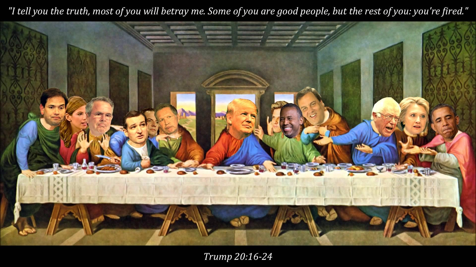 The Gope S Last Supper 1920 X 1080 Need Iphone 6s Plus