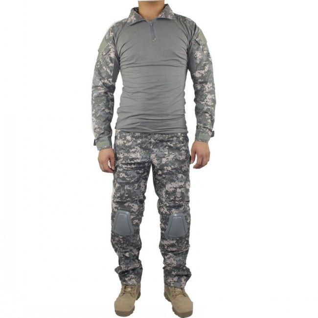 Gen2 Combat Suit And Pant with Pad(ACU)