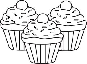 Cupcakes Clipart Image Cupcakes Fabric Painting Clip Art Art Clipart
