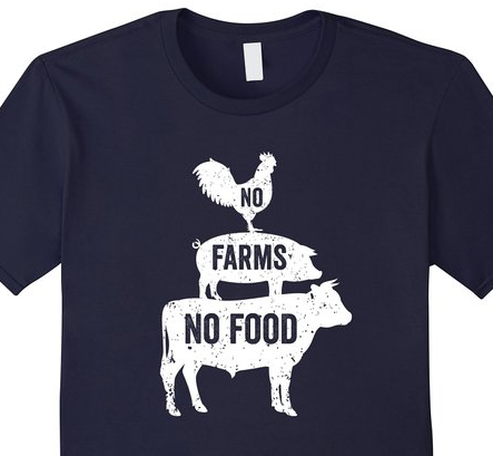 Click the shirt to purchase. No FARMS No FOOD t-shirt best ...