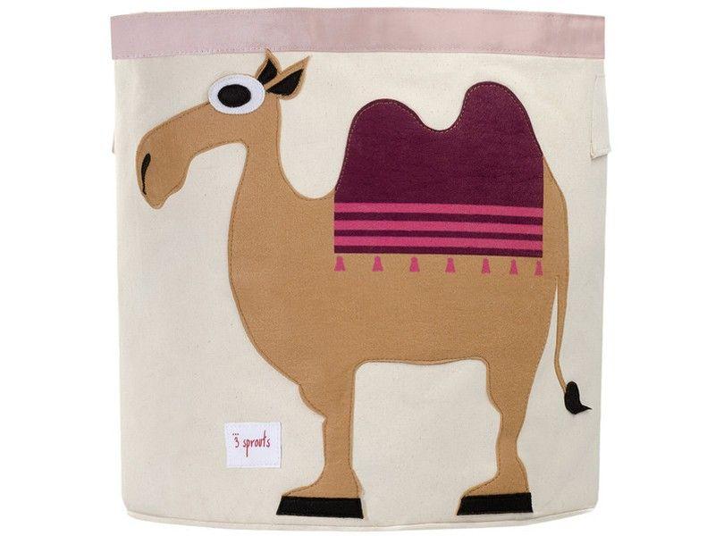 Aufbewahrungskorb Kinderzimmer ~ Mit diesem originellen aufbewahrungskorb von sprouts mit kamel