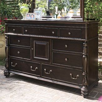 Paula Deen Door Dresser Tobacco Finish Is A Part Of Paula Deen Furniture  Collection. Available At Knight Furniture Showrooms In Florence, SC.