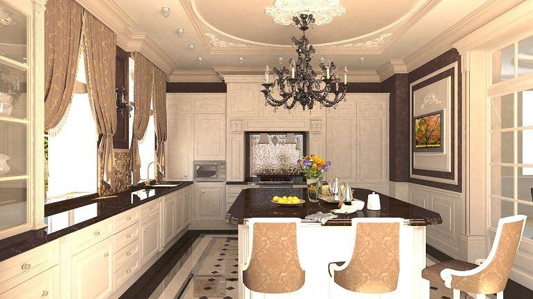 Чулково - дизайн проект интерьера роскошного дома ...
