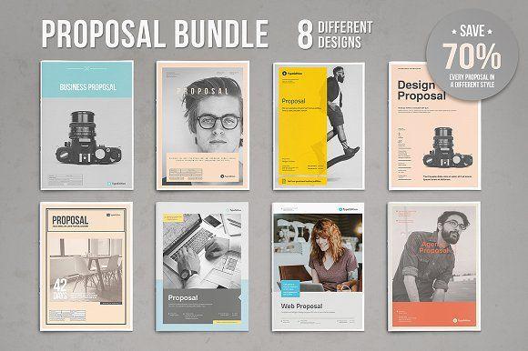 Proposal Bundle Pinterest Proposals, Brochures and Proposal