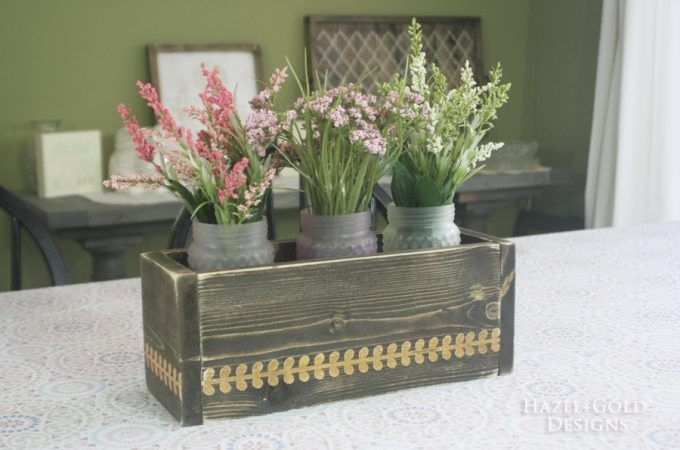 Simple Wood Projects- Use up your Scraps #woodenflowerboxes