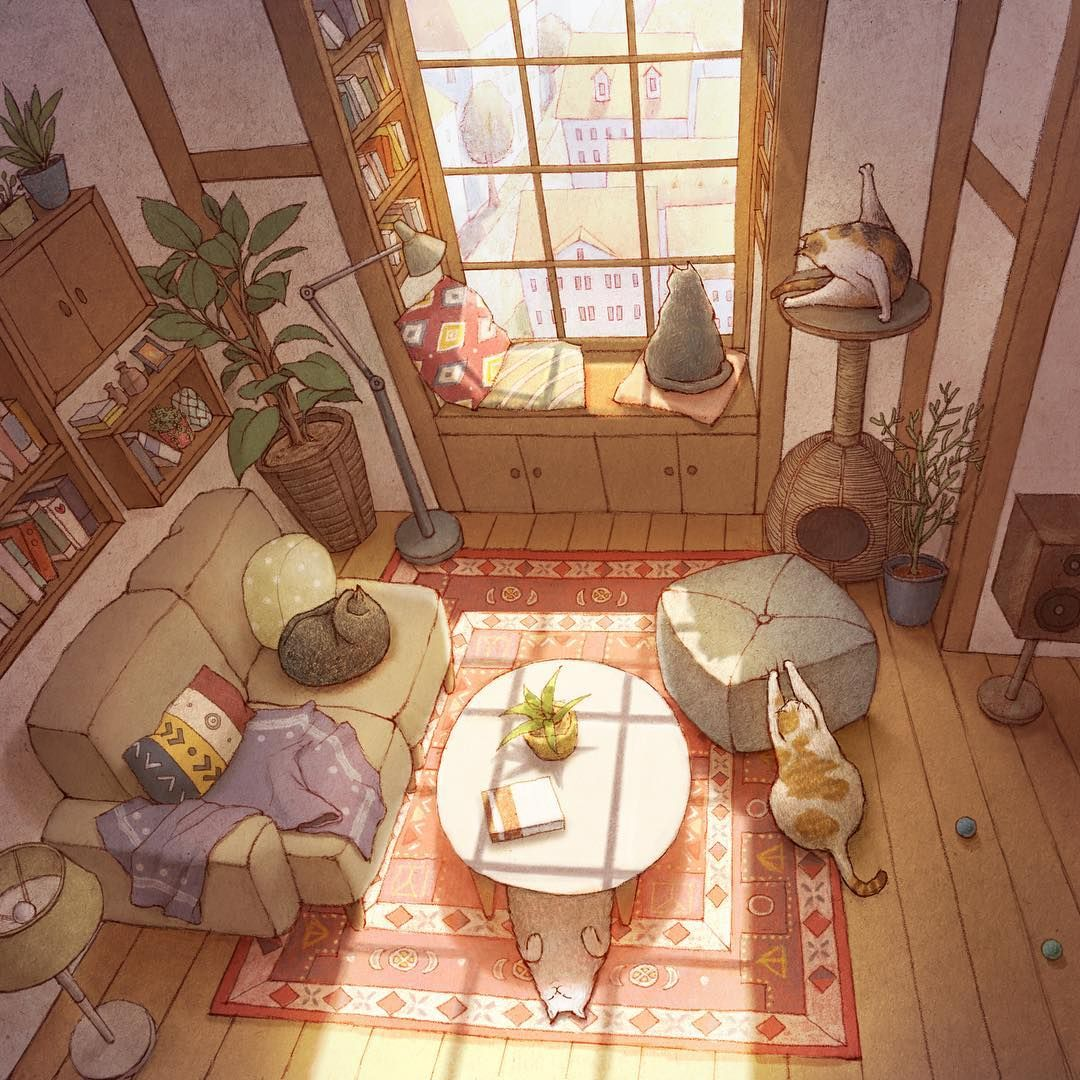 Limduey Limduey Art Cute Art Art Inspiration Living room drawing anime