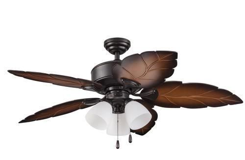 Turn Of The Century Sonesta Ii 52 In Iron Tropical Outdoor Rated