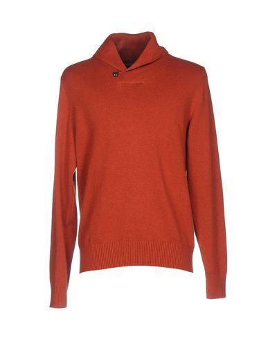 TOMMY HILFIGER Men's Sweater Rust XXL INT