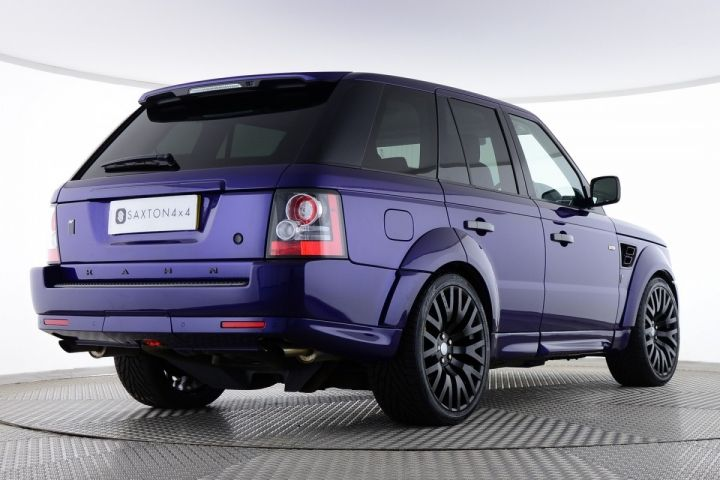 Used Land Rover Range Rover Sport Tdv6 Project Kahn Signature Wide Arch Blue For Sale Essex Bj11yuy Saxton 4x4 Range Rover Sport Used Range Rover Range Rover