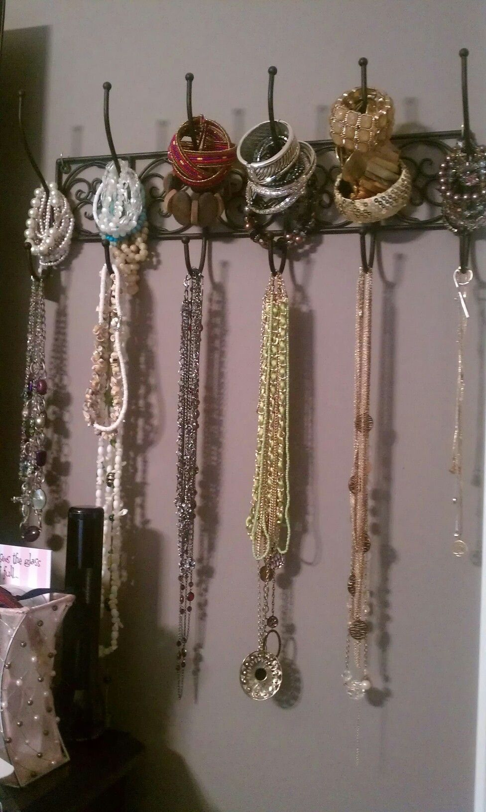 Coat Hanger Jewelry Organizer Crafthubs