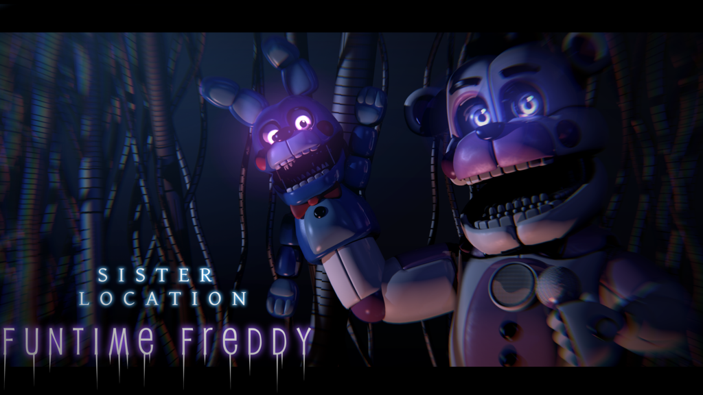 Well Hello Again! - [FNaF SL Blender Poster] by ChuizaProductions on