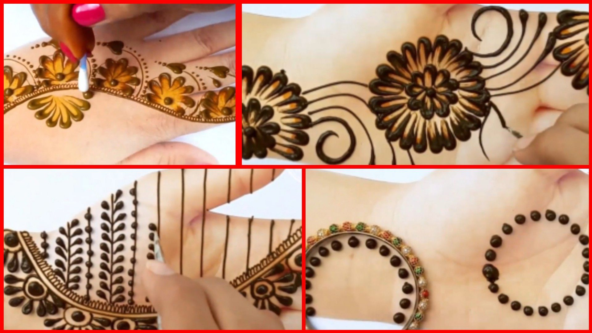 نقش حناء رووعة Henna Tattoo Design 2020 Henna Tattoo Diy Henna Kit Mehndi Designs For Hands