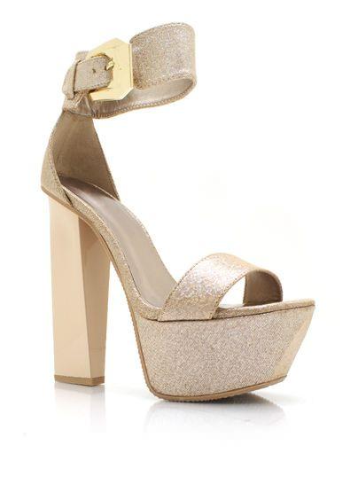 Sparkly Chunky Platform Heels | I luv shoes | Pinterest | Flats ...