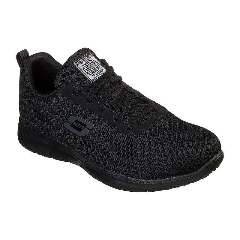 Skechers Bronaugh Womens Walking Shoes Lace Up Wide Width
