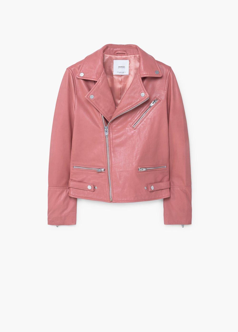 4c81855d66a5 Leather biker jacket - Women | Wishlist | Jackets, Suede moto jacket ...