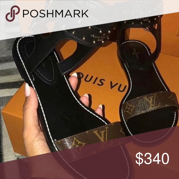 f4e00ae421 LV nomad sandals New! Authentic! Interested? Comment Louis Vuitton Shoes