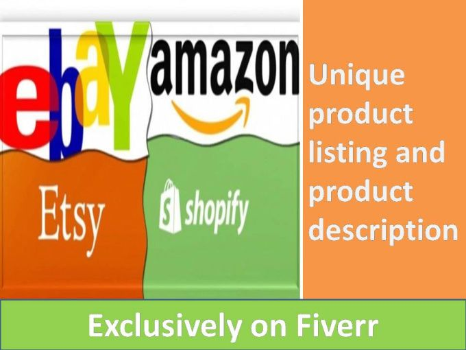 To sell your products on Amazon, eBay, Magento, Shopify or
