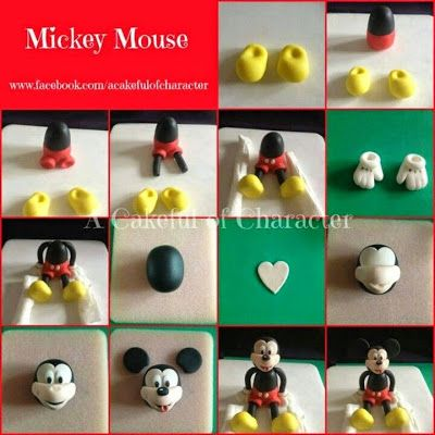 Photo Tutorials Cake Design: Mickey Mouse