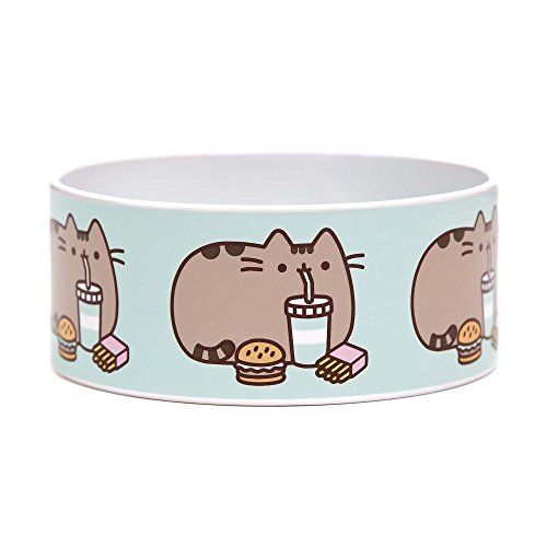 Funny Cat Food Bowls Pusheen Fast Food Ceramic Cat Bowl 3 Cup Medium Blue More Info Could Be Found Pusheen Cat Merchandise Pusheen Cat Cat Merchandise
