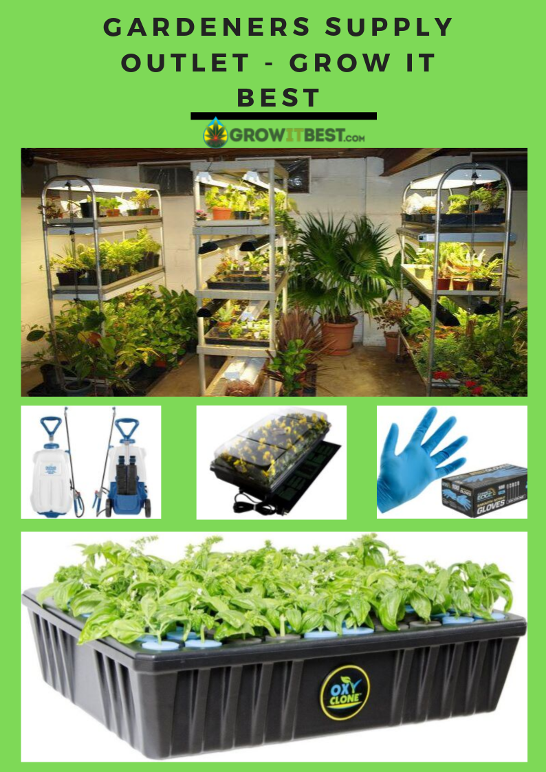 Get Online Gardening Equipment From Gardeners Supply Outlet Store