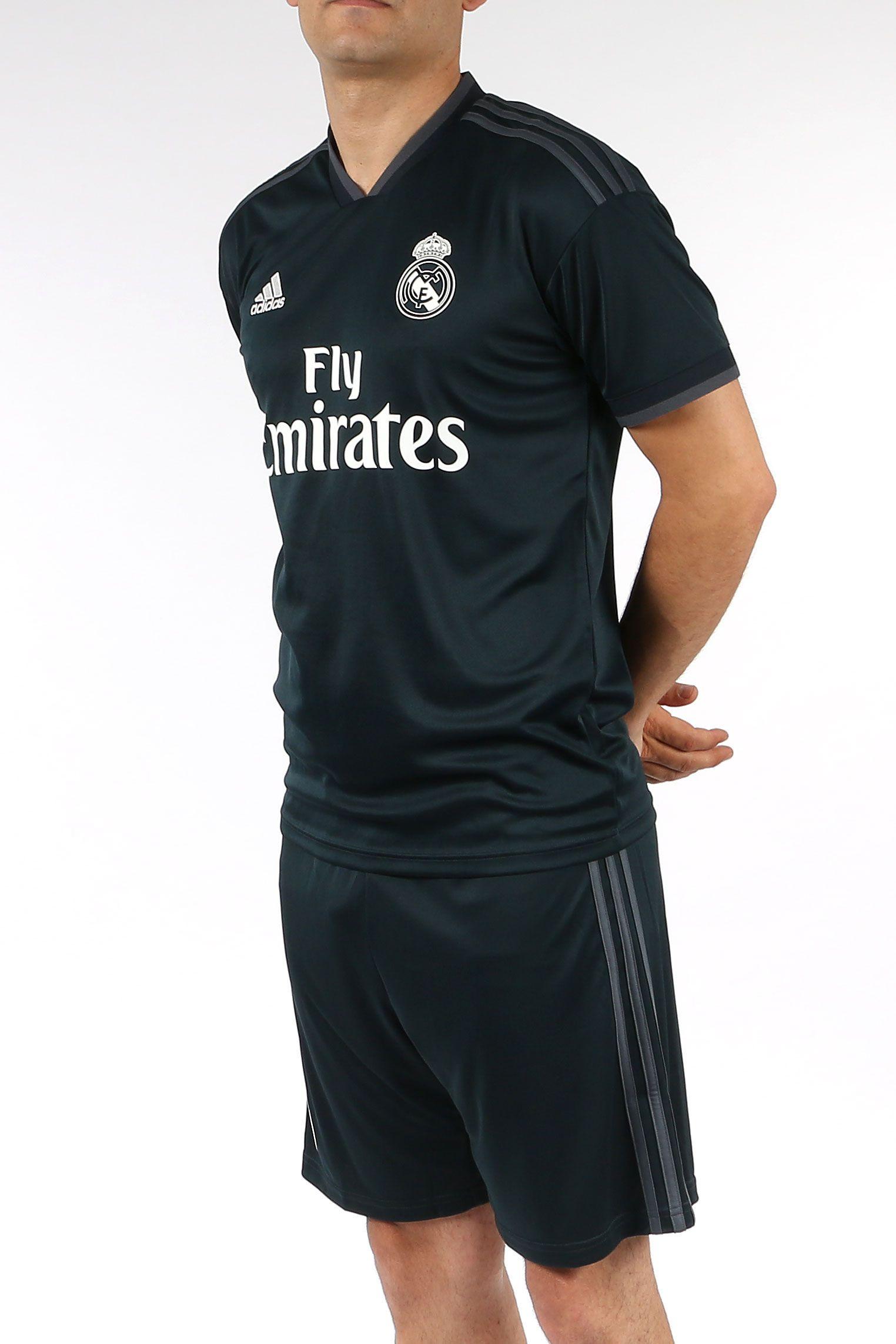 108fb066bfa10 Camiseta segunda equipación Real Madrid de La Liga 2018 - 2019 - negra