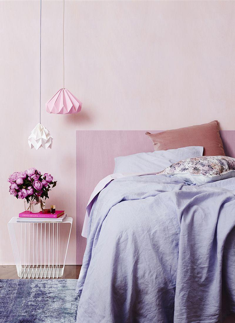 colour trend blush pink deco bedroom paint colors. Black Bedroom Furniture Sets. Home Design Ideas