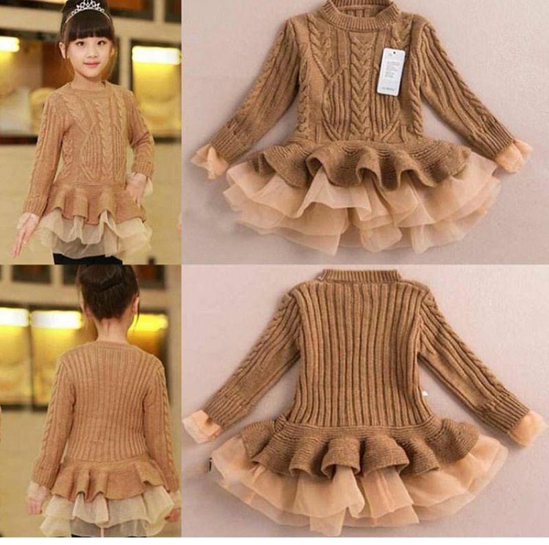 36++ Brown sweater dress toddler ideas