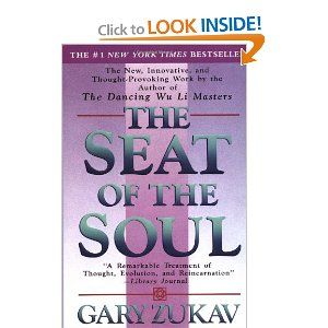 The Seat of the Soul~With lucidity and elegance, Zukav explains that we are evolving from a species that pursues power based upon the perceptions of the five senses -- external power -- into a species that pursues authentic power -- power that is based upon the perceptions and values of the spirit.