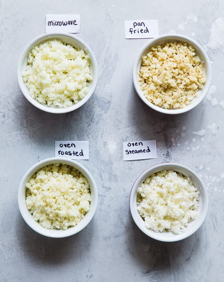 4 Easy Ways to Cook Cauliflower Rice Ever wondered how
