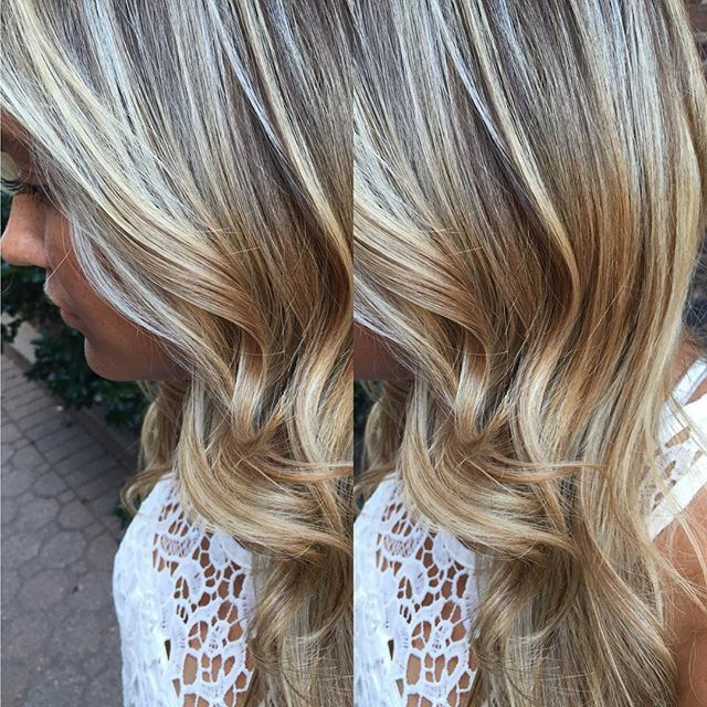 """""""Another beautiful blonde  #americansalon #angelofcolour #anthonythebarber916 #btcpics #cranford #elumen #guytang #goldwell #goldwelleducation #hudabeauty #haircolor #hairporn #hairbrained #hairoftheday #instahair #modernsalon #newjersey #njhairstylist #stylistshopconnect"""" Photo taken by @colormechristine on Instagram, pinned via the InstaPin iOS App! http://www.instapinapp.com (08/28/2015)"""