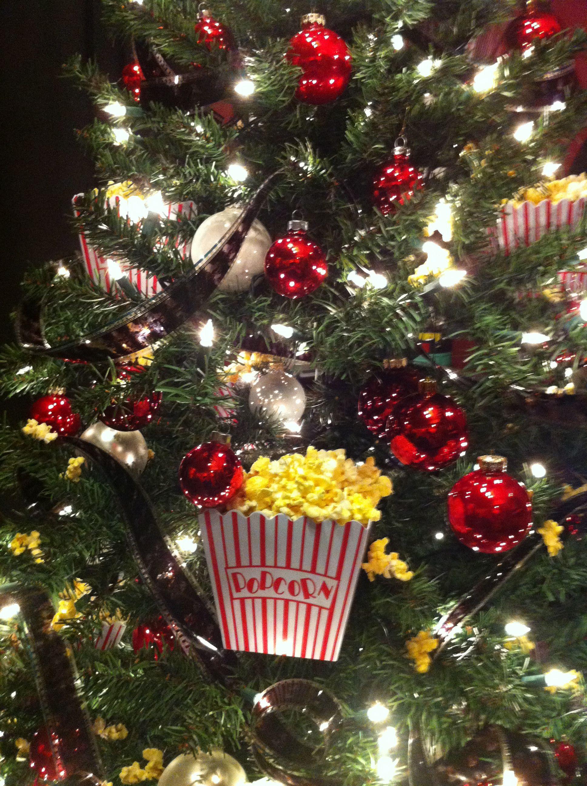 Movie themed tree holidays Pinterest Christmas tree