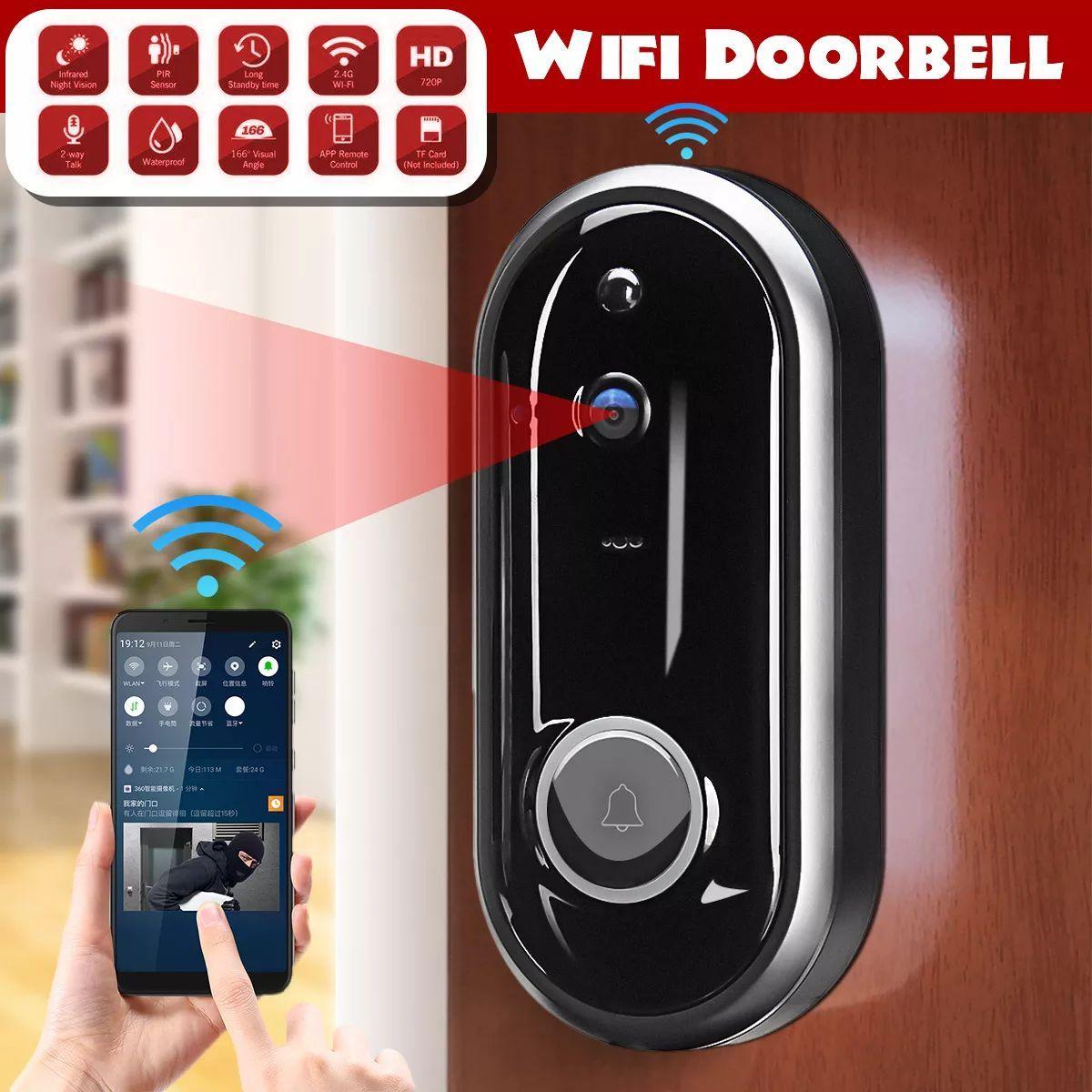 Video Doorbell Camera Wireless Wifi Security Phone Ring Door Bell