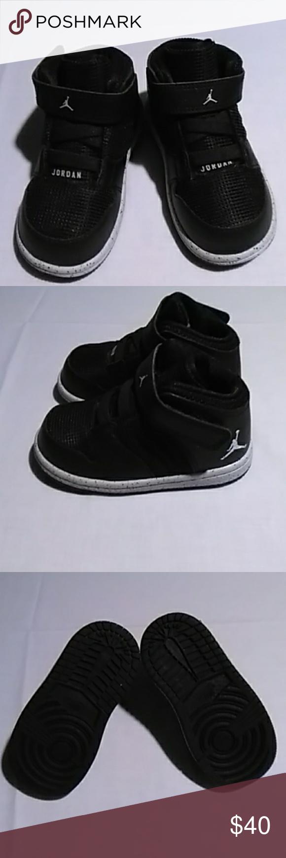 all black infant jordans